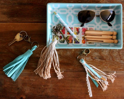 DIY Tassel Key Chain_Twine And Braids