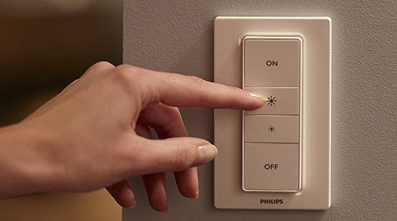 Lighting with dimmers