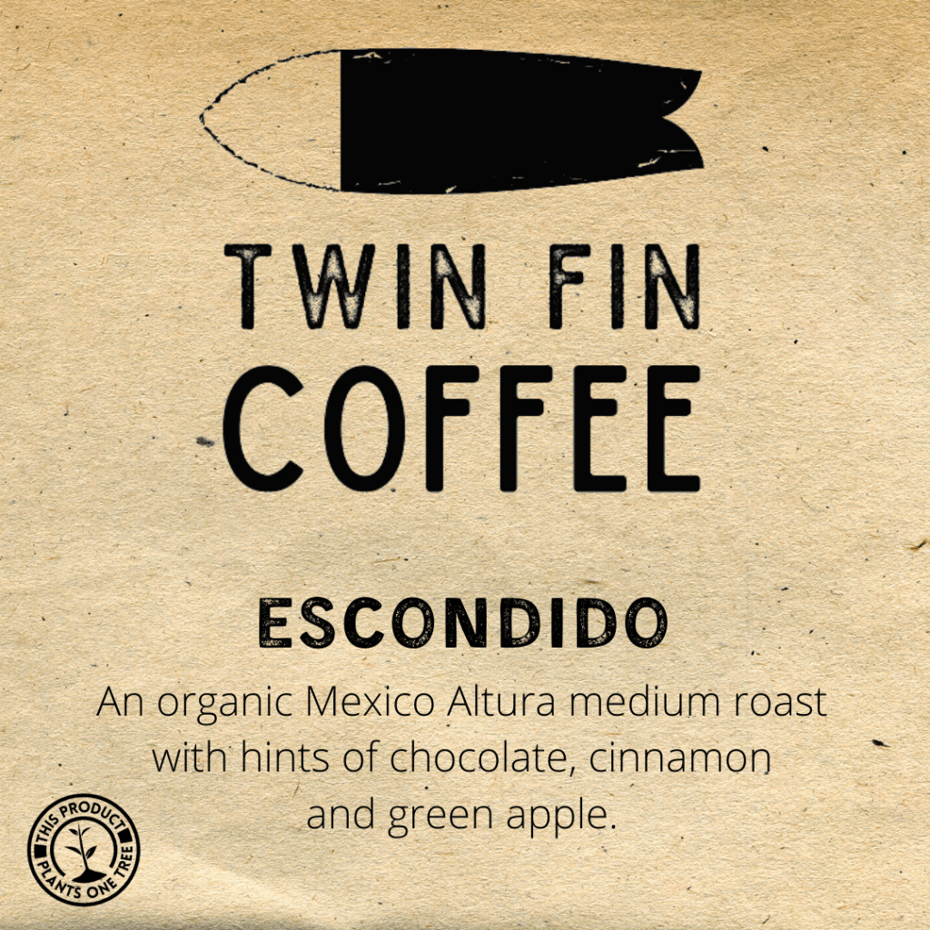 Twin Fin Coffee Escondido