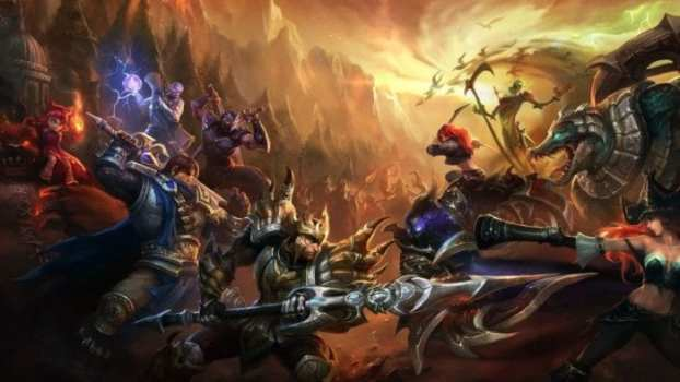 2) League of Legends - 100 Million Monthly Players