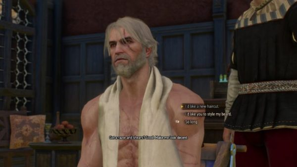 Witcher 3 Haircuts What All Haircuts Hairstyles Beards
