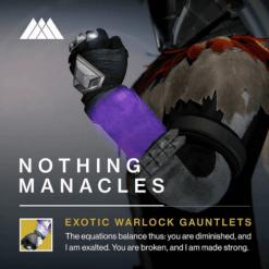 Destiny Nothing Manacles