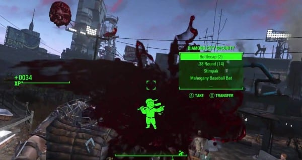loot enemies where to get ammo fallout 4 blood death kill
