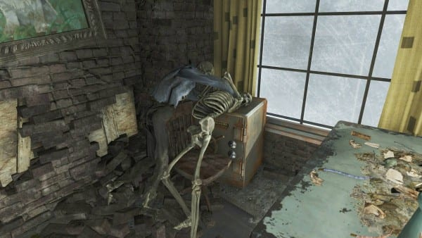 fallout 4 skeletons fighting ammo