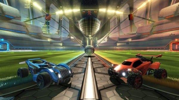 rocket league, PSVR, cinematic mode