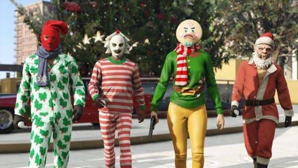 GTA V Holiday Event