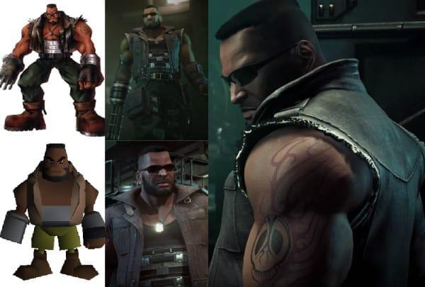 Final Fantasy VII Remake, Barret