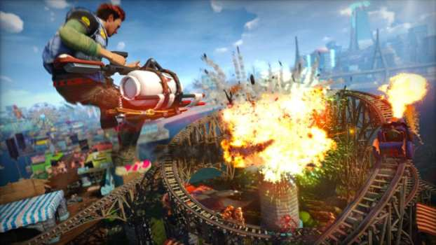 3. Sunset Overdrive