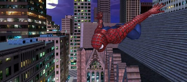 spiderman 2, ps2, ps4