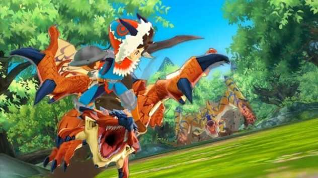 monster hunter stories, japan, 3ds