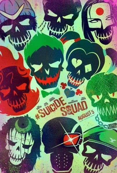 Suicide Squad, poster