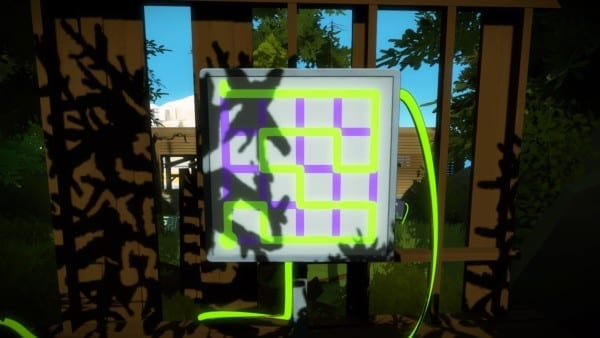 shady trees laser puzzle solutions shadow panels the witness