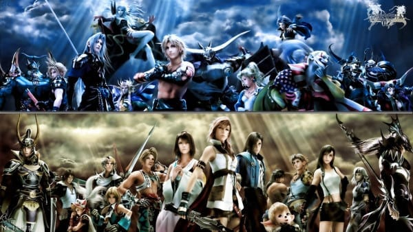 final fantasy, dissidia 012, duodecim, spinoff
