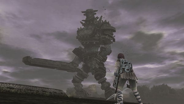 shadow of the colossus, ps2, ps4