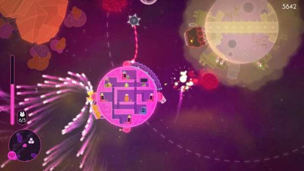 Lovers in a Dangerous Spacetime (PS4, Xbox One, PC, Switch)