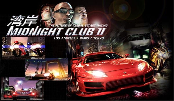 midnight club 2, ps2, ps4