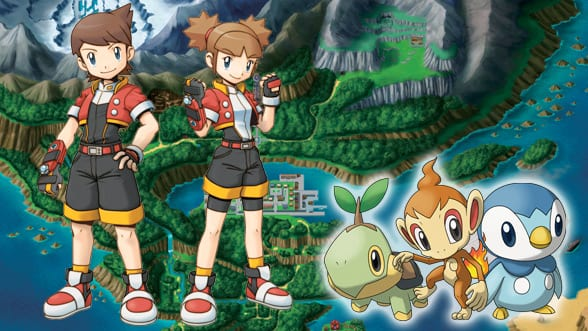 26. Pokemon Ranger Series (2006-2010) - DS