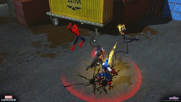 Marvel Heroes gameplay