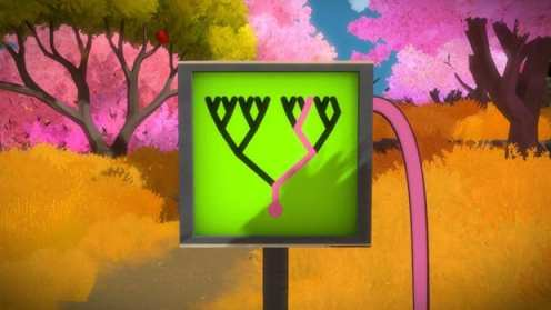 the witness pink tree 1