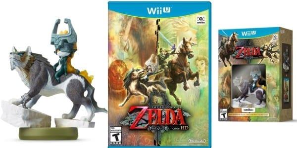 Wolf Link, amiibo, Twilight Princess HD