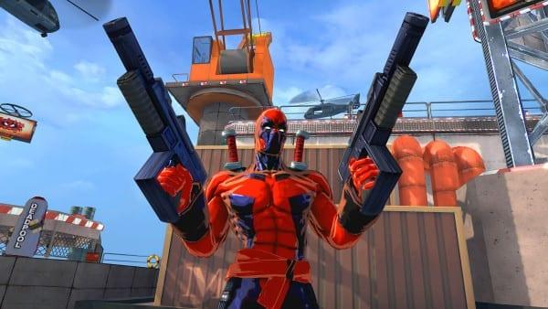 Deadpool, Spider Man, Shattered Dimensions, games
