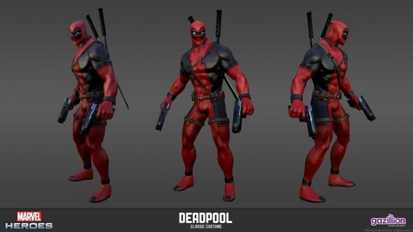 Deadpool, Marvel Heroes, Games
