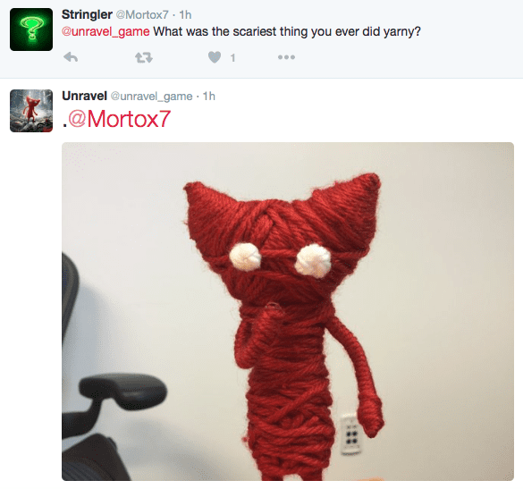 Yarny unravel q&a interview twitter