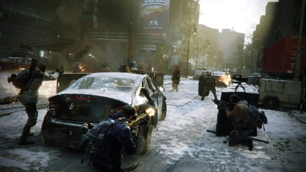 the division, NPCs, first things to do