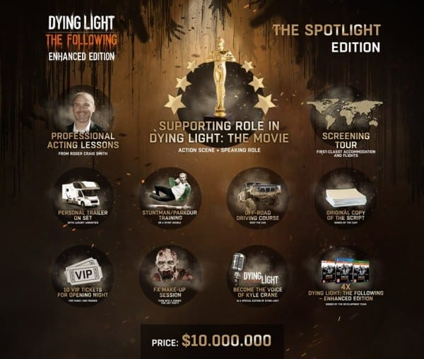 dying light 10 million edition