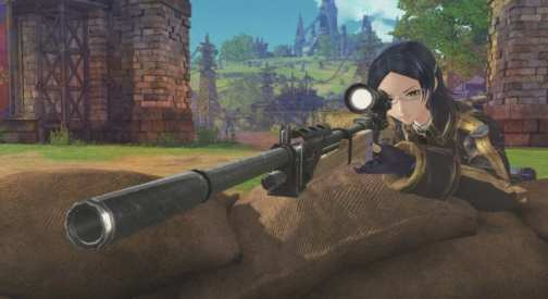 Valkyria, Azure Revolution, Battle, screenshot