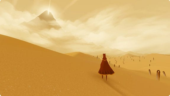 journey, game prettiest, beautiful, graphics, art style