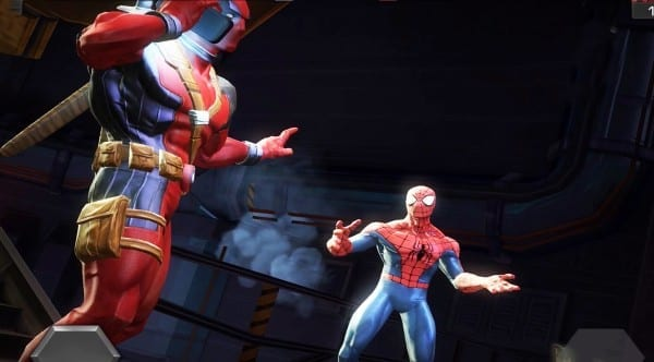 deadpool, marvel, games, contest of champions