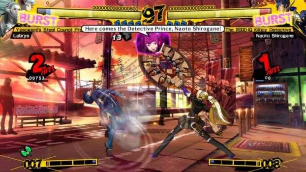 14. Persona 4 Arena Ultimax