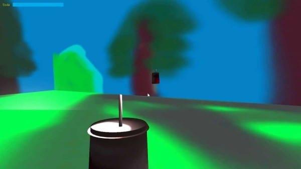 weirdest games, virtual reality, weird, oculus rift, soda drinker pro