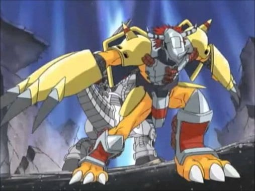 Digimon, Wargreymon, Adventure