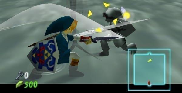 Zelda, boss, ocarina of time, dark link