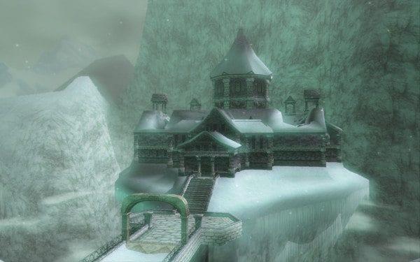 Zelda, Dungeon, Twilight Princess, Snowpeak Ruins