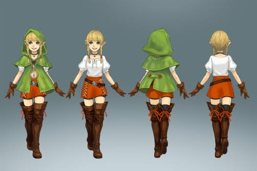 Linkle, Hyrule Warriors Legends
