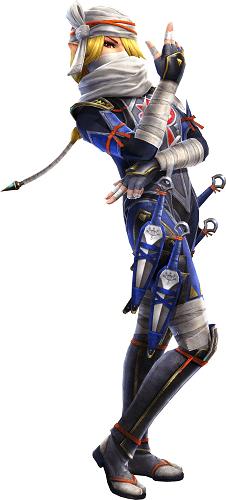 Hyrule Warriors Legends, Sheik