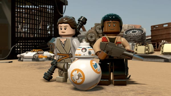 LEGO Star Wars The Force Awakens Rey Finn BB-8