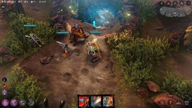 Vainglory, Twitch, League of Legends
