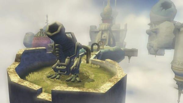 Zelda, Dungeon, Twilight Princess, City in the Sky