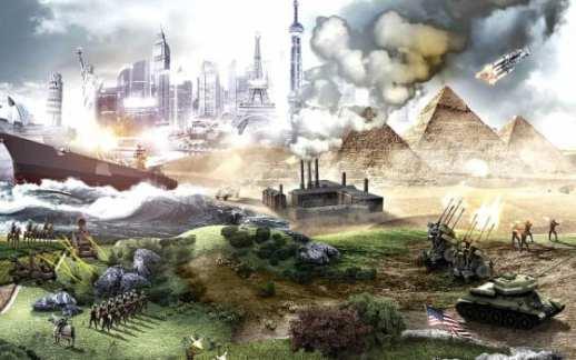 civilization V, games at work