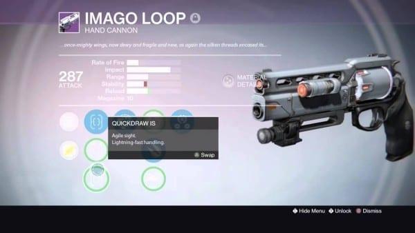destiny imago loop
