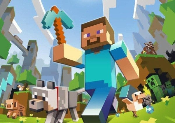minecraft, PlayStation VR, PSVR, cinematic mode