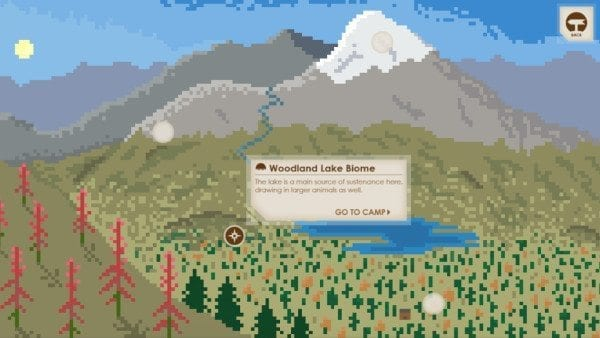 On My Own Biome Map