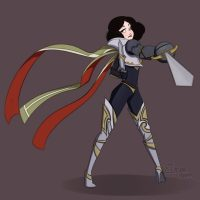 Snow White as Fiora Disney princesses as League of legends champions