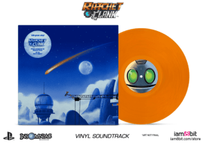ratchet and clank, merchandise, vinyl, soundtrack, movie, game