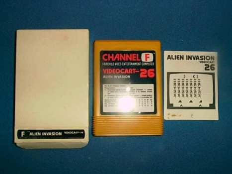 Fairchild Channel F (1976) - Alien Invasion (1981)