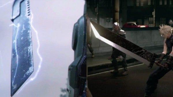Titanfall 2, Sword, teaser, Buster Sword, Final Fantasy VII